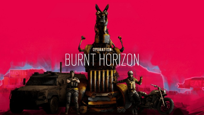 Operacion Burnt Horizon, Rainbow Six Cuarto Año