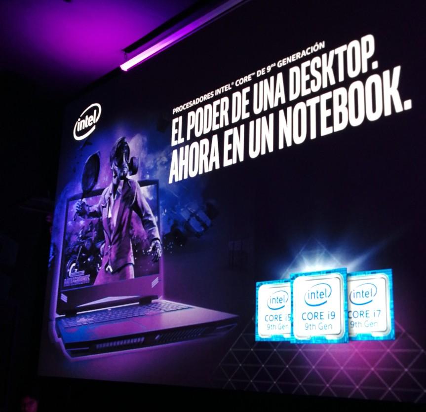 Intel® presenta en Perú sus procesadores más potentes para gaming enlaptops