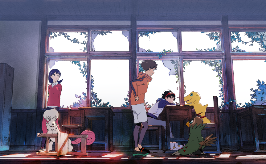 ¡Disfruta de la película de Digimon Survive enYoutube!