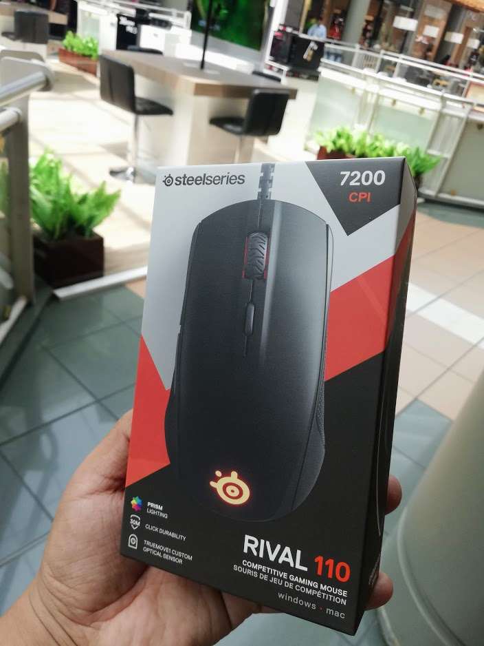 Análisis SteelSeries Rival 110