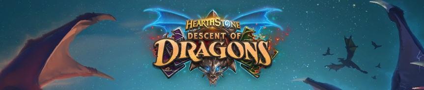 Hearthstone: Descenso de los Dragones la nueva expansión que nos trae un tema muy apasionado para muchos de nosotros,dragones.