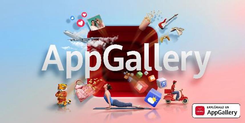 Huawei presentó oficialmente App Gallery, la tercera Tienda de aplicaciones más importante delmundo