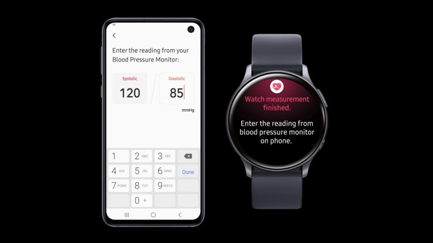 Samsung anuncia una aplicación de monitoreo de la presión arterial para dispositivos GalaxyWatch