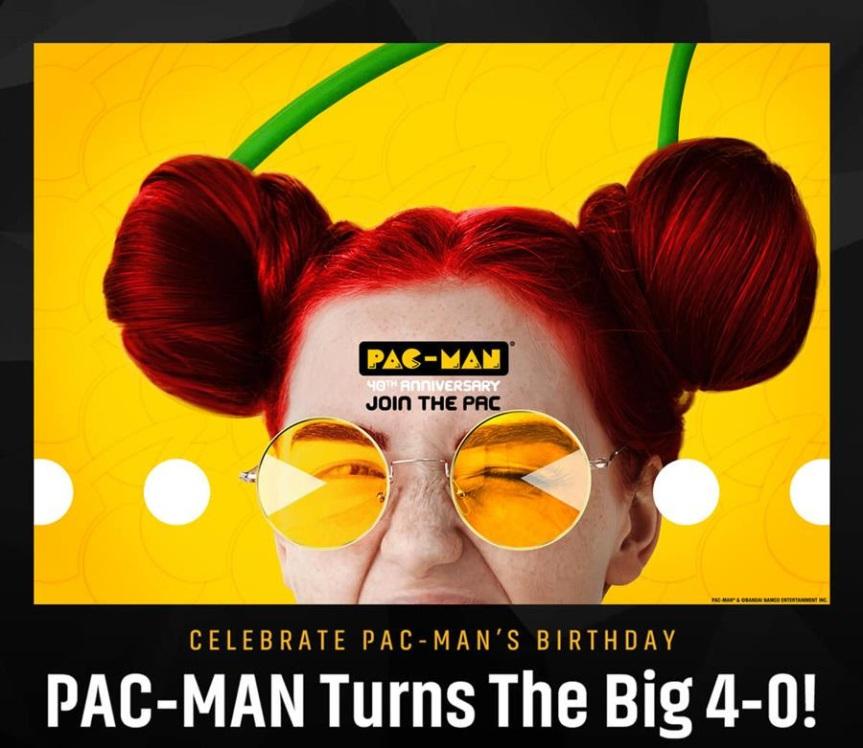 PAC-MAN, LA SUPER ESTRELLA ORIGINAL DE LOS VIDEOJUEGOS, CELEBRA SU 40ºCUMPLEAÑOS