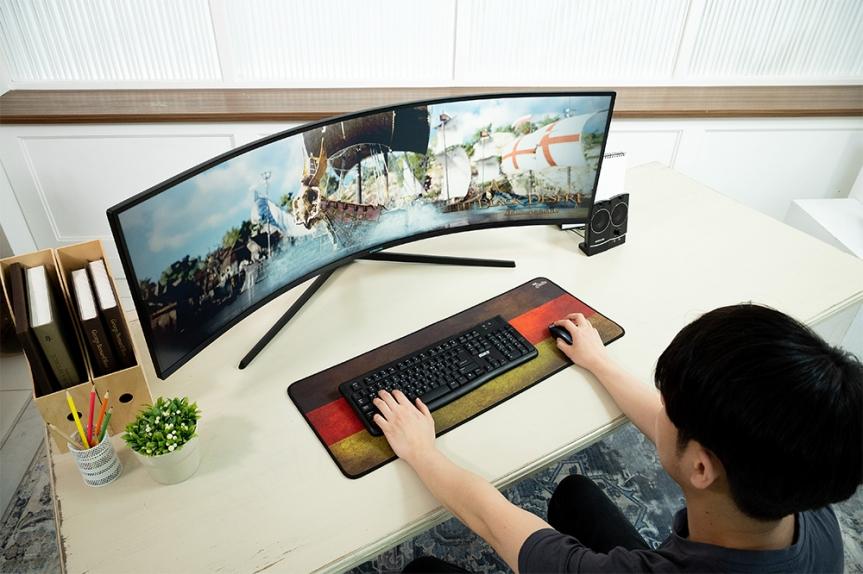 Samsung lanza el Odyssey G9, monitor curvo para juegos con el mayor rendimiento delmundo