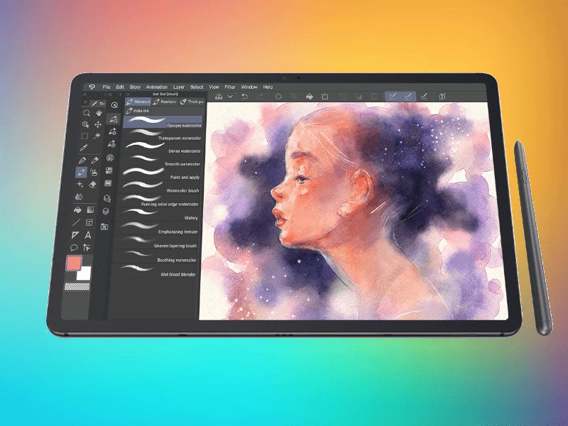 Crea y expresa tu arte con la Samsung Galaxy Tab S7 |S7+