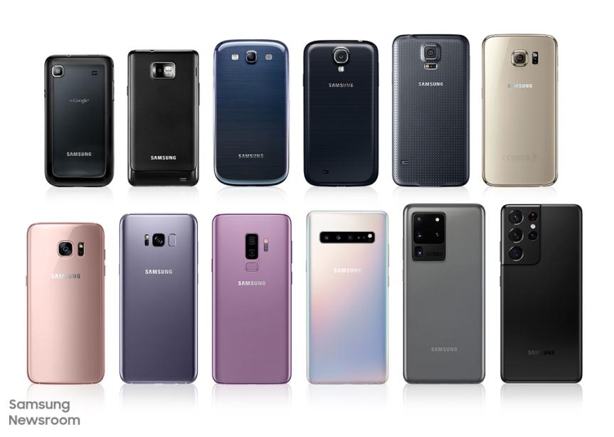 Una breve historia sobre las tecnologías de las cámaras de la serie GalaxyS