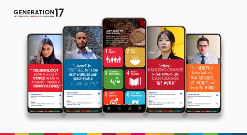 Samsung y el Programa de las Naciones Unidas para el Desarrollo dan la bienvenida a cinco Jóvenes Líderes para ampliar su compromiso con los ObjetivosGlobales