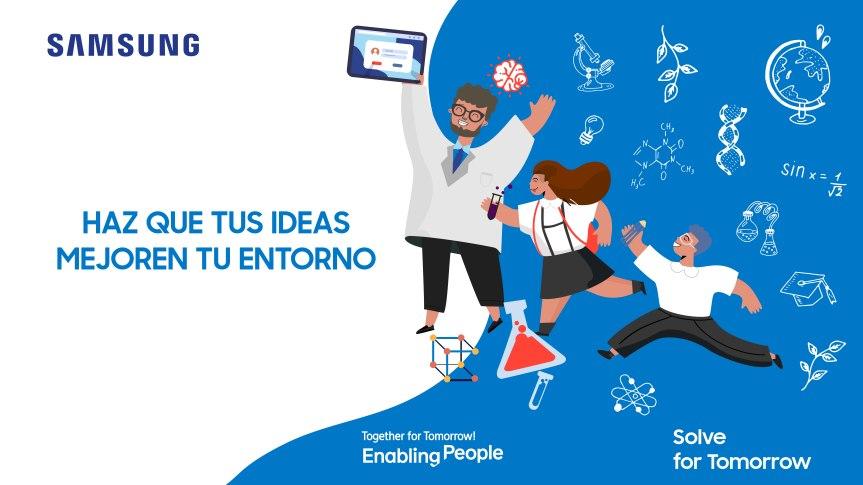 Más de 4 mil estudiantes peruanos participaron con creativos proyectos de Ciencia y Tecnología en concurso deSamsung