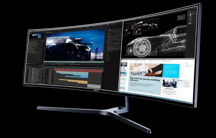 Cómo dividir la pantalla de tu monitor Samsung para realizar más de unatarea